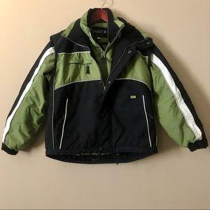 COLTECH Boys Ski Snow Jacket and Vest Size 12